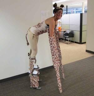 CrutchWear in Giraffe