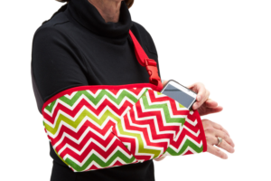 CastCoverz Christmas Chevron Arm Sling