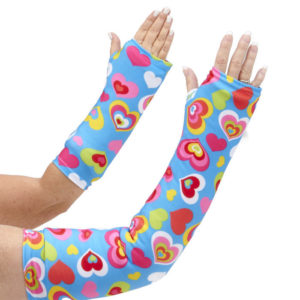 CastCoverz! Fashion Arm Cast Cover in Happy Hearts