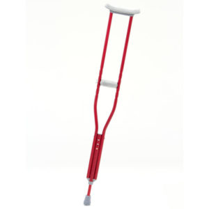 CastCoverz! Designer Crutches in Red