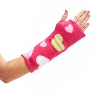 CastCoverz! Sleeperz! Soft Arm Cast Covers in Blushing Love