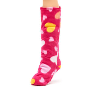 CastCoverz! Sleeperz Soft Leg Cast Cover in Blushing Love