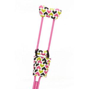 CastCoverz! Cruchwear Crutch Accessories Hearts to You