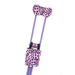 CastCoverz! Crutchwear Accessories for Crutches Wild at Heart