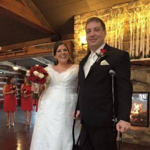 Designer Color Crutches for Wedding by CastCoverz