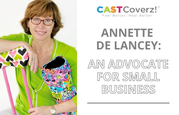 annette de lancey an advocate for small business